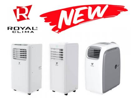 Новые модели мобильных кондиционеров Royal Clima